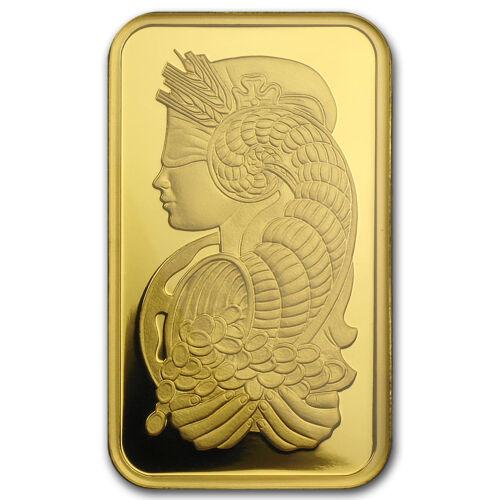 1 OZ GOLD BAR - PAMP SUISSE LADY FORTUNA VERISCAN® (IN ASSAY) - SKU #82236