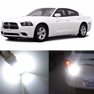 Alla Lighting Back-Up Reverse Light 3157K White LED Bulb for 11~14 Dodge Charger
