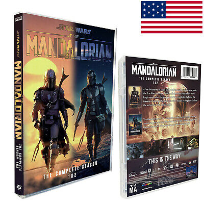 The Mandalorian Season 1-2 ( 4 DVD )English letters USPS Deliver 2-4 Days