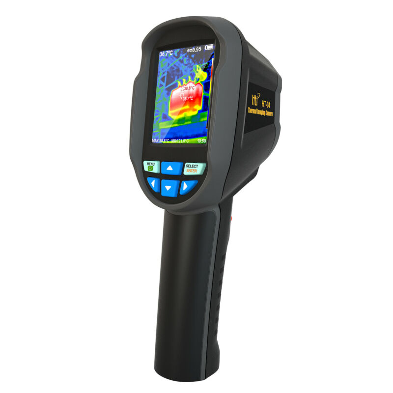 HT-04 with Real-Time Thermal Image Camera 2.8 Inch,IR Resolution 220x160 pixels