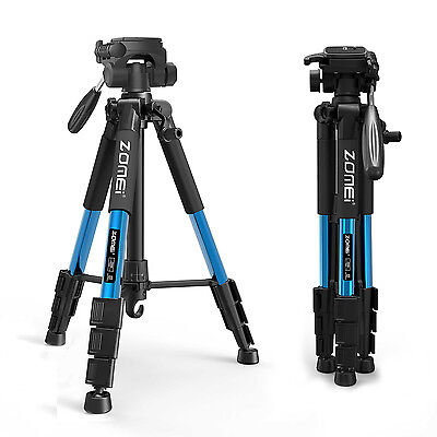ZOMEI Z666 Professional Aluminum Portable Travel Tripod&Pan Head For DSLR Camera