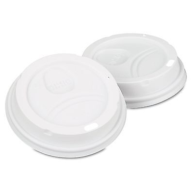 Dixie Lids 50 ct. PerfecTouch 10 - 16 oz Domed Hot Cup Lid W