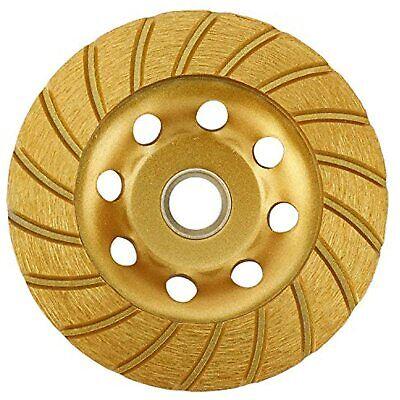 Turbo Row Diamond Cup Grinding Wheel Angle Grinder Polishing And Cleaning 4-12