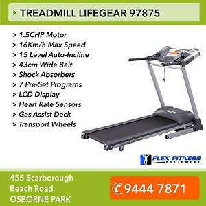 NEW Treadmill - 1.5CHP Motor, 15Lvl Auto-Incline, 16km/h Osborne Park Stirling Area Preview