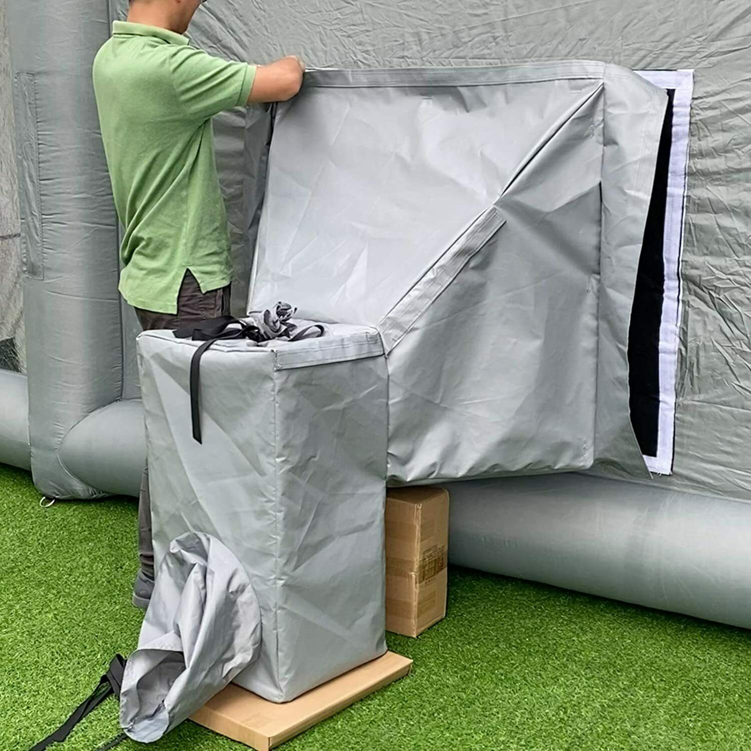 Inflatable Paint Booth Air Draft Device for Indoor /NOT for Any Other Brand Boot
