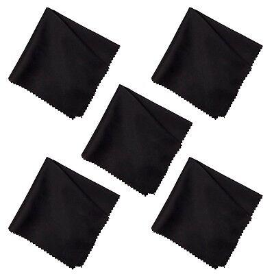 5-20x Brillenputztuch Brillen Putztuch Mikrofaser Brillentuch Optikertuch 20x20