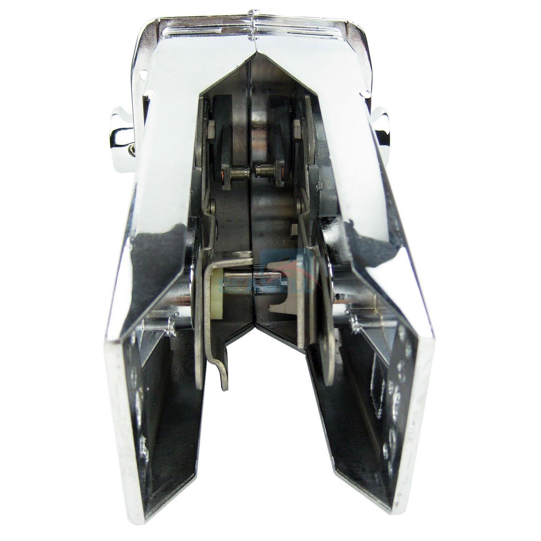Zinc Alloy Universal Marine Boat Dual Control Lever Top