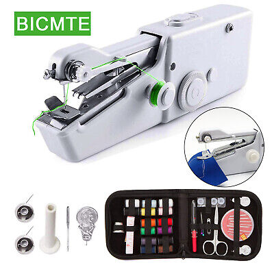 Mini Portable Smart Electric Tailor Stitch Hand-held Sewing Machine Home Travel Mini Sewing Machine