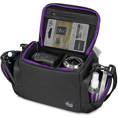 Medium Camera Bag Case by Altura Photo for Nikon Canon Sony