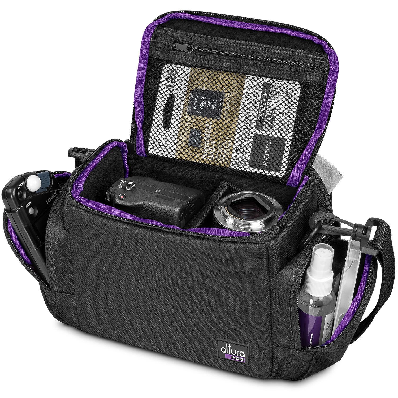 Medium Camera Bag Case by Altura Photo for Nikon Canon Sony DSLR and Mirrorless -   10 - Medium Camera Bag Case by Altura Photo for Nikon Canon Sony DSLR and Mirrorless