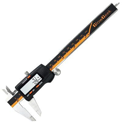 Glowgeek Electronic Digital Caliper Inchmetricfractions Conversion 0-6 Inch