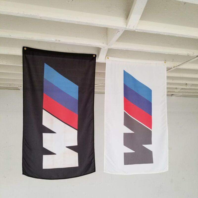 BMW Banners - 2 Flag Set- m3 m5 z3 alpina hartge e30 e36 dinan 3.0csl i8 e46 e21