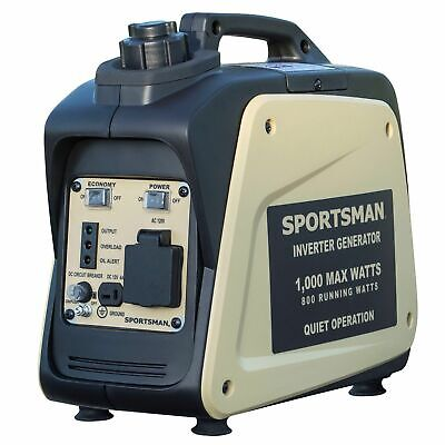 Sportsman 1000-w Quiet Portable Gas Powered Inverter Generator Home Rv Camping