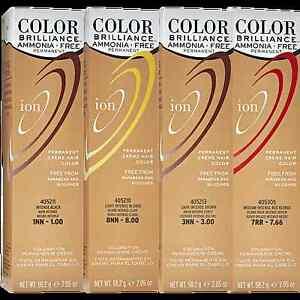 Ion Color Brilliance Ammonia Free Permanent Creme Hair