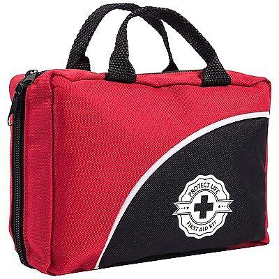 115 Piece Trauma Bag First Aid Kit Emergency Supplies Stocked EMT EMS Paramedic