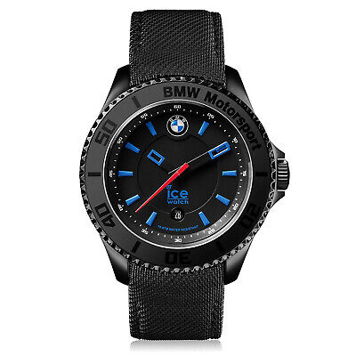 Ice Bmw Motorsport ICE-001111 Black Leather Quartz Fashion Watch