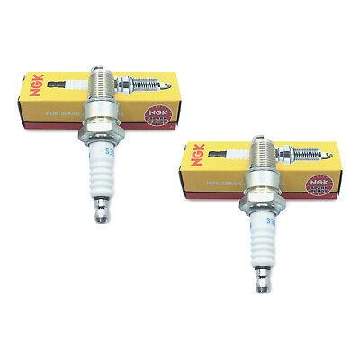 Pair Set of 2 New Standard Resistor Copper Spark Plugs BPR 6 ES/7131