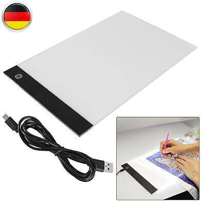 A4 LED Grafiktablett Touchpad Stift-Tablet Tracing Animation Skizze Pad Mit USB