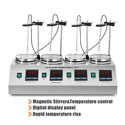 Magnetic Stirrer With Heating Plate Hotplate Digital Mixer Stir Bar Lab