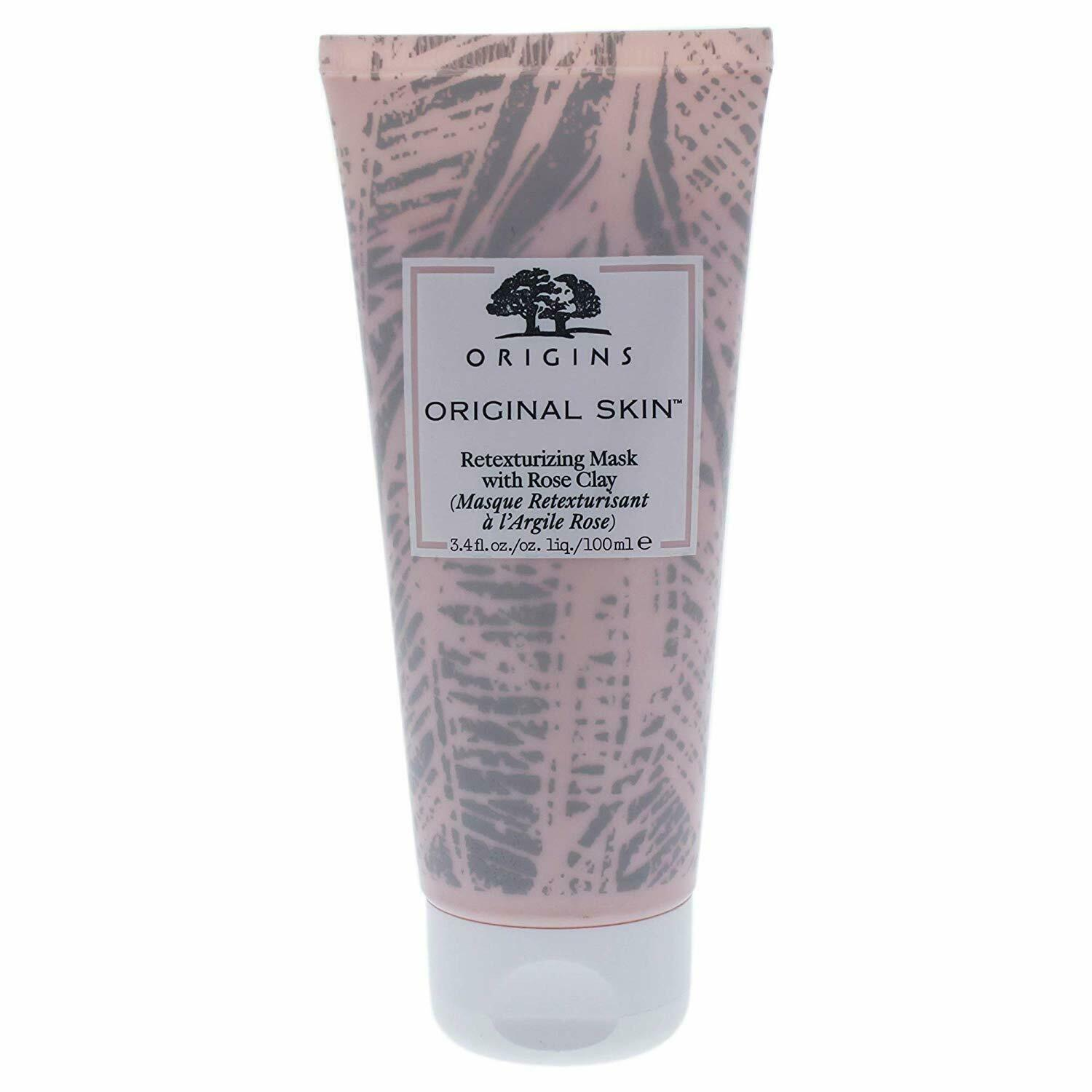Origins Original Skin Retexturing Mask with Rose Clay, 3.4 o