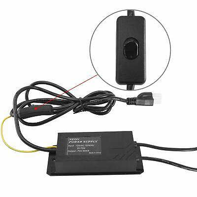7kv Power Supply For Glass Neon Sign Electronic Neon Light Transformer Us Ship
