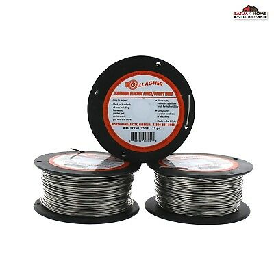750 Aluminum Wire Electric Fence 17 Gauge New