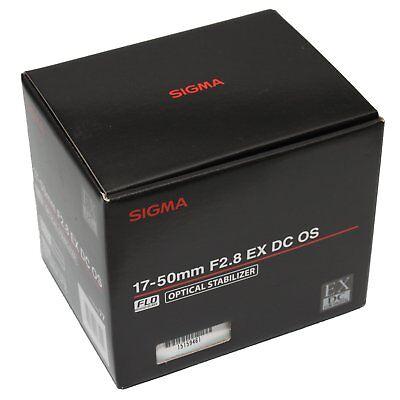 Sigma 17-50mm f/2.8 EX DC OS HSM Lens 17-50 F2.8 F/2,8 Built-in Motor für Nikon