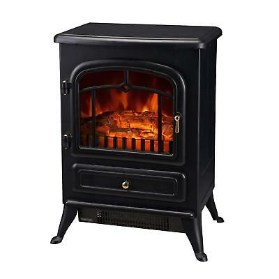 Fake Fireplace Heater Electric Wood Log Small Decoration RV Best Value Mini New  ()