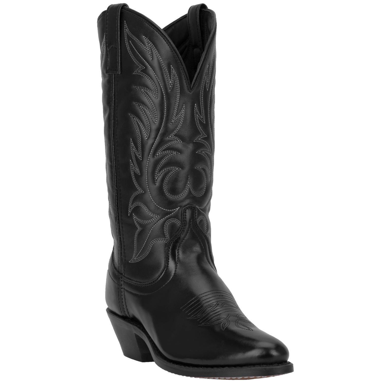 "Dan Post Laredo Kadi 01-5740-BK Women's 11"" Black Leather Co"