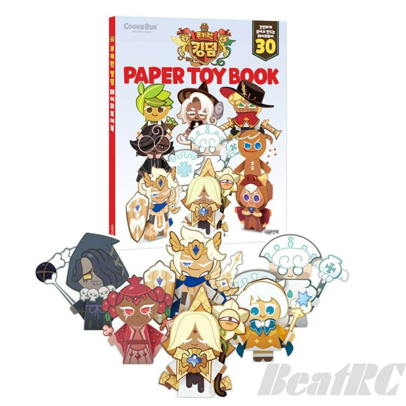 CookieRun Kingdom Paper Toy Book Paper Craft