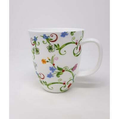 Becher Tasse Fleurette für 350ml weiß Blumen Porzellan TeaLogic Weiße Becher