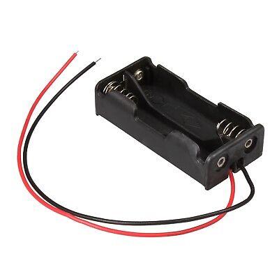 Batteriehalter mit Anschlußkabel 2x AAA / Micro Batterie Batteriefach offen