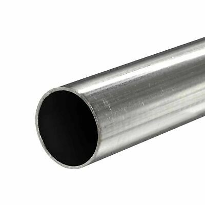 409 Stainless Steel Round Tube 2 Od X 0.075 Wall X 72 Long