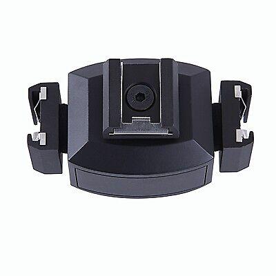 Movo HVA30 Triple Video Bracket for DSLR Camera Hot Shoe Light/Microphone/Flash
