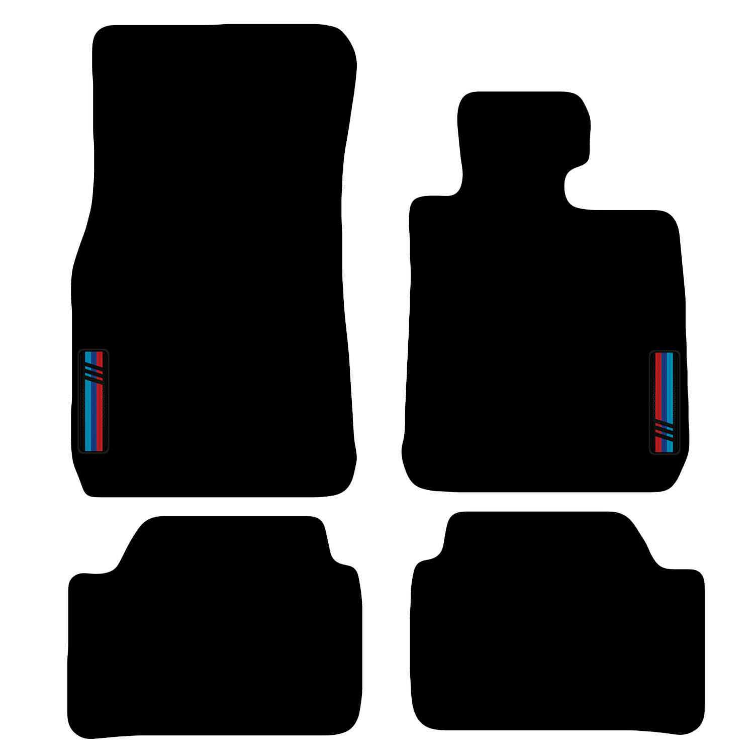 Car Parts - Tailored Carpet Car Floor Mats FOR BMW 1 Series F20 F21 2011 onwards with logo