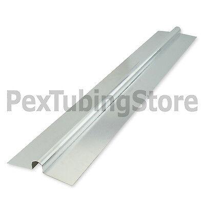 400 2ft Aluminum Radiant Floor Heat Transfer Plates For 12 Pex Tubing