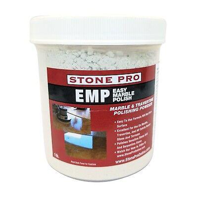 Marble and Travertine Polishing Powder Stone Pro Diamond Renew 1 Pound