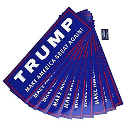 50 Pack Donald Trump for President Make America Great Again Bumper Sticker US KY