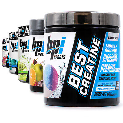 BPI Sports Best Creatine (50 Servings) Pre/Post Workout Multiple (Best Post Workout Powder)