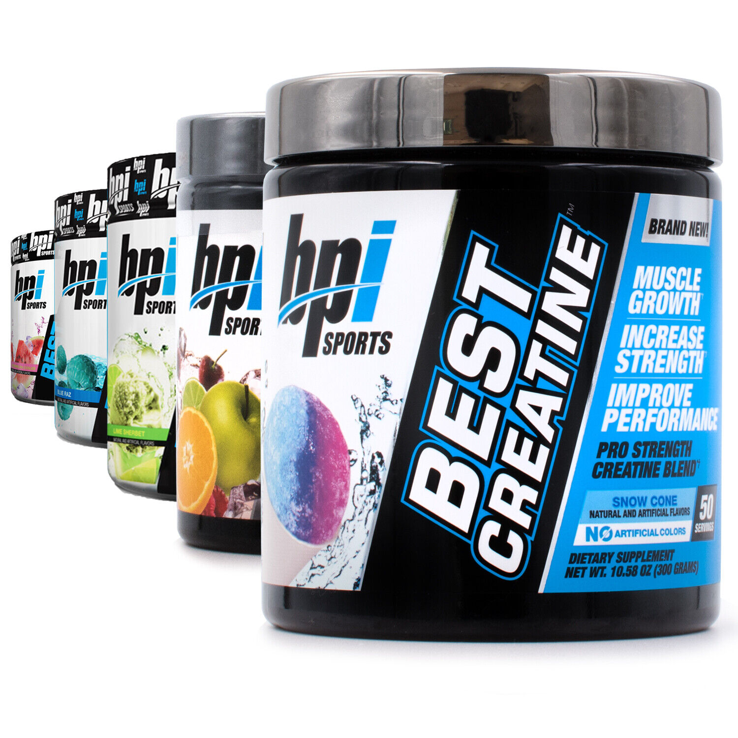 BPI Sports Best Creatine  Pre/Post Workout Multiple Flavors