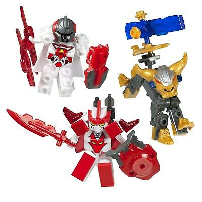 Tenkai Knights Ionix  Bravenwolf, Leinad & Hos Mini figure 3-Pack #10501