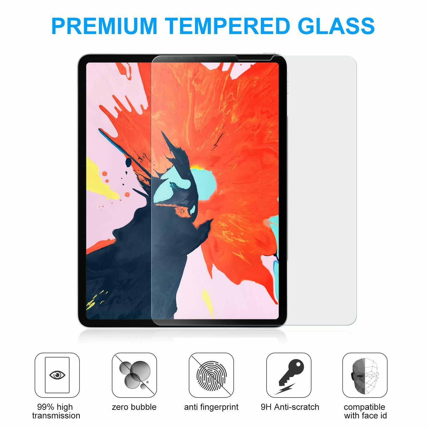For Apple iPad Pro 11 inch 2018 Tempered GLASS Screen Protector Computers/Tablets & Networking