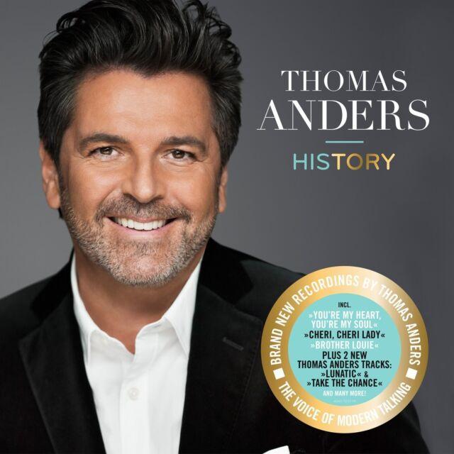 THOMAS ANDERS - HISTORY DIE STIMME VON MODERN TALKING 2 VINYL LP NEU