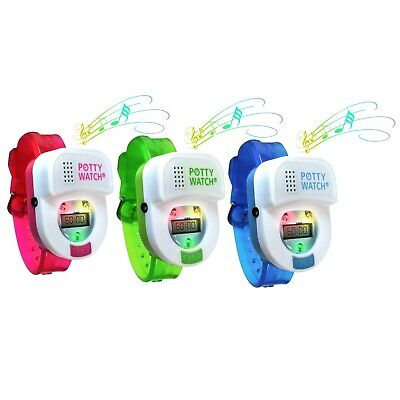 Potty Time Watch Toddler Toilet Training Aid Timer~ Pink