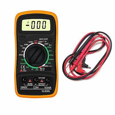 Electrical Lcd Digital Multimeter Ohmmeter Ac Dc Voltmeter Multi Tester Ammeter