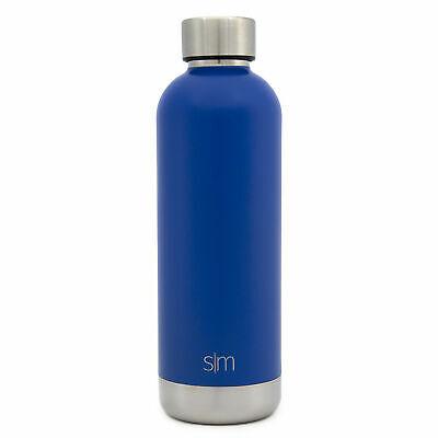 simple modern bolt 17oz water bottle stainless steel Twilight Blue 17 Ounce Stainless Bottle