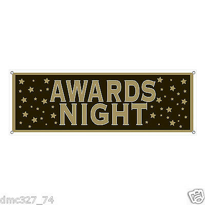1 HOLLYWOOD Movie AWARDS NIGHT Party Decoration Prop SIGN BANNER 60