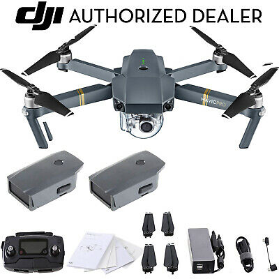 DJI Mavic Pro 4K Quadcopter with 2 Batteries and DJI...