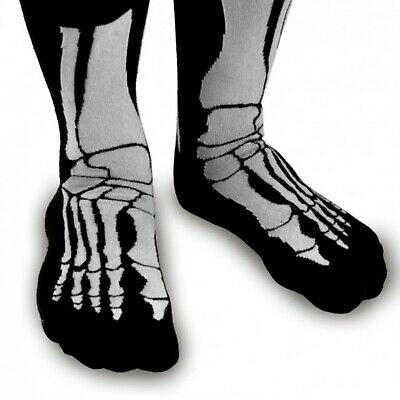 Skelett Socken Silly Socks Skeleton Knochen Horror Strümpfe - Halloween Socken