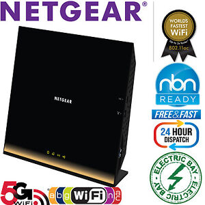 NETGEAR-R6300-AC1750-Wireless-Router-Dual-Band-Gigabit-WiFi-802-11ac-Switch-USB3